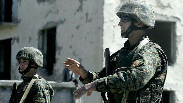 Учения сил НАТО. Архивное фото