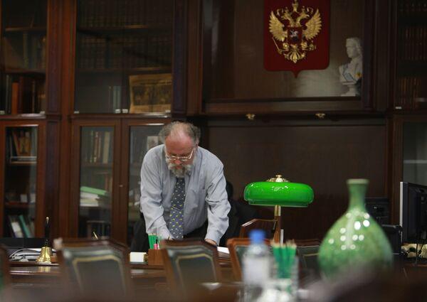 Председатель ЦИК РФ Владимир Чуров. Архив