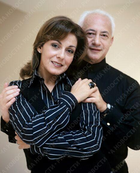 Супруги Сати и Владимир Спиваковы