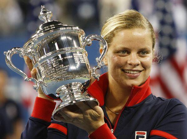 Бельгийская теннисистка Ким Клейстерс