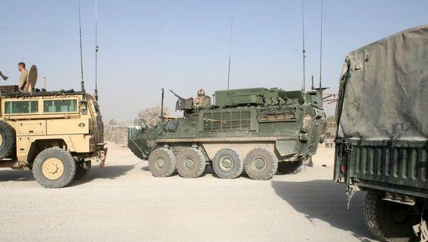 Военные ISAF из Кандагара, Афганистан. Архивное фото