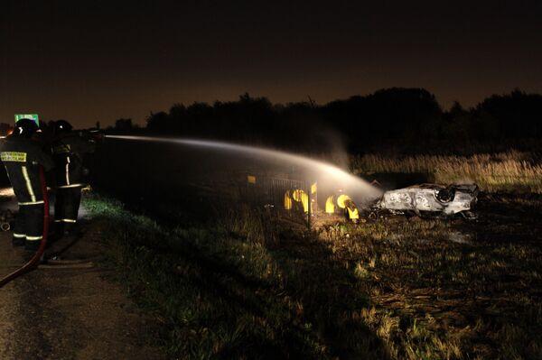 Прорыв магистрального газопровода на Новорижском шоссе
