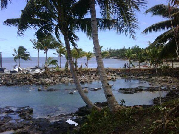 Землетрясение магнитудой 6,0 произошло у побережья Западного Самоа