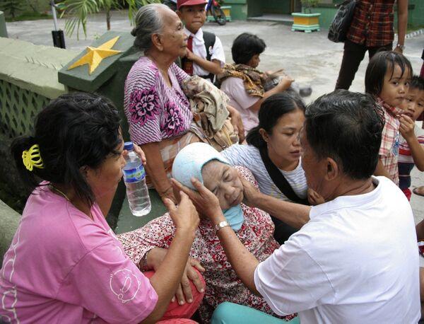Землетрясение у берегов Суматры