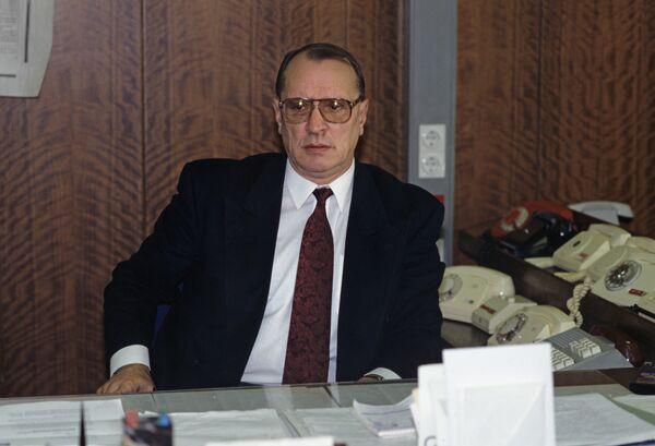 Главный редактор газеты Известия Игорь Голембиовский