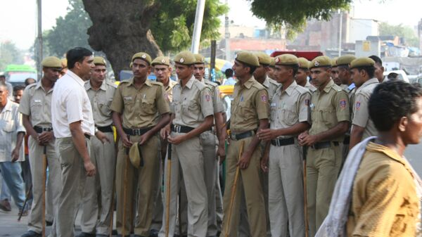 Полиция Дели. Архивное фото.