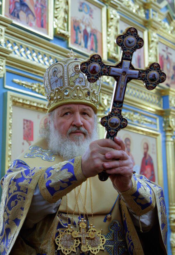 Патриарх Московский и всея Руси Кирилл освятил новый храм апостолов Петра и Павла в Сестрорецке