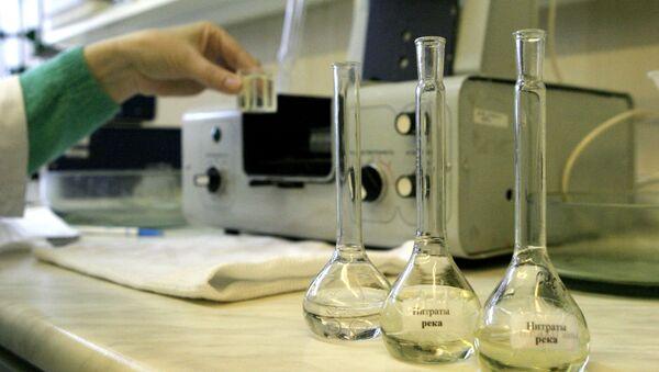 Исследование воды из Амура в лаборатории