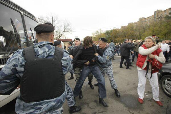 Задержание журналистов, освещавших ситуацию вокруг Черкизовского рынка