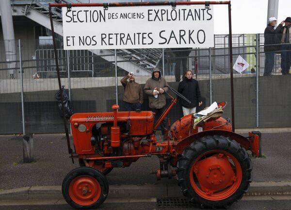 Забастовка французских фермеров