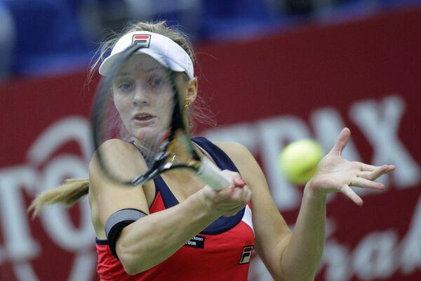 Российская теннисистка Анна Чакветадзе. Архив