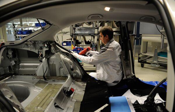 Завод Volkswagen в Калуге испытывает нехватку кадров