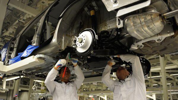 Автомобильный завод. Архивное фото