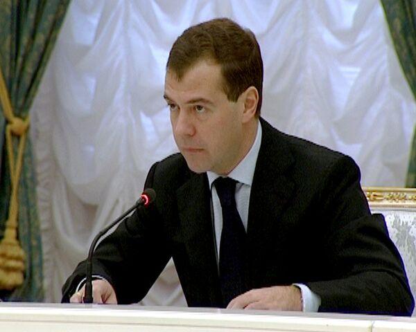 Медведев выступает за ужесточение наказания за рейдерские захваты