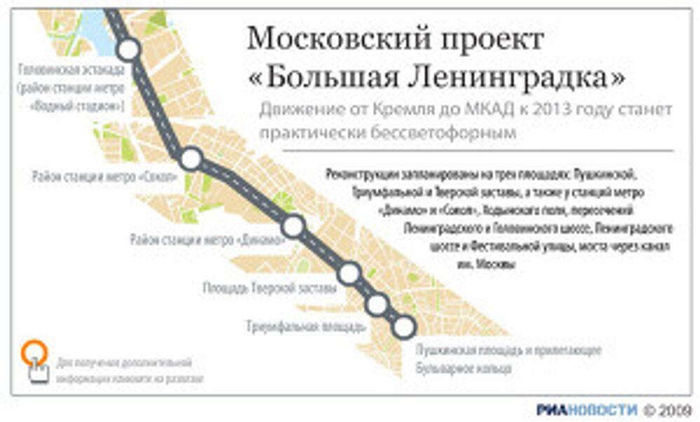 Московский проект «Большая Ленинградка»