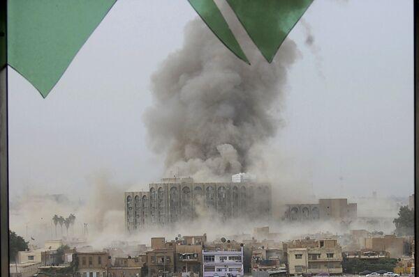 Два взрыва прогремели в центре Багдада