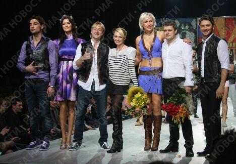 Закрытие Volvo-Недели моды в Москве