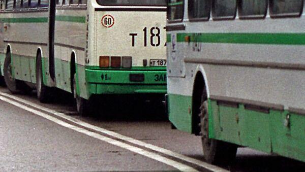 Автобусы в Москве. Архив