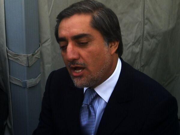 Абдулла Абдулла отказался от участия в выборах президента Афганистана