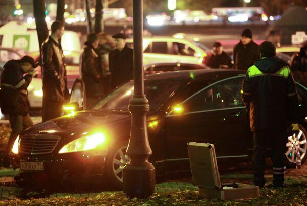 Убийство бизнесмена Шабтая Калмановича произошло в центре Москвы