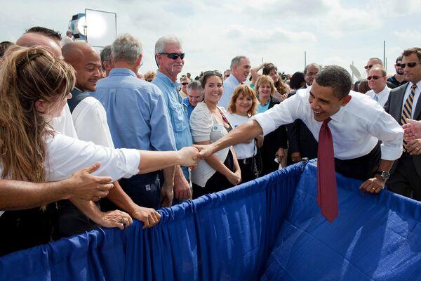 Президент США Барак Обама в штате Флорида
