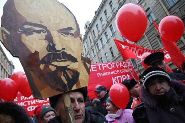 Митинг в Санкт-Петербурге, посвященный 7 ноября