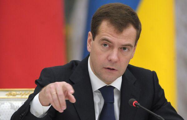 Медведев озвучит послание Федеральному Собранию, которое впервые готовилось по новой схеме