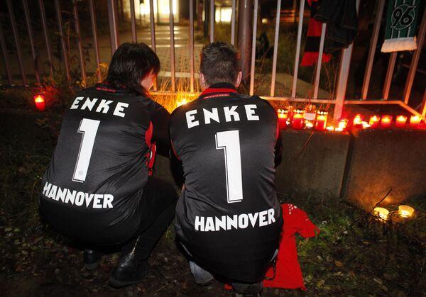 Самоубийство немецкого футболиста