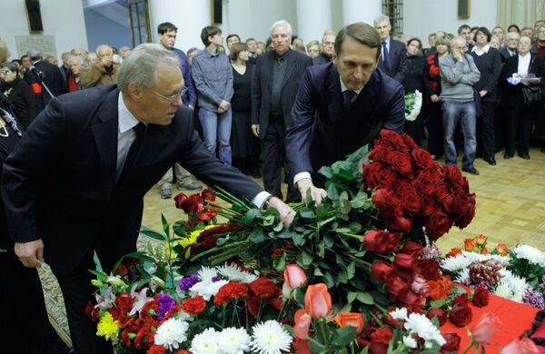 Прощание с академиком Виталием Гинзбургом
