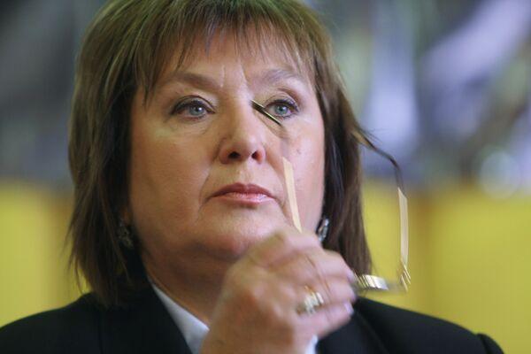 Лидер Прогрессивной социалистической партии Украины Н. Витренко