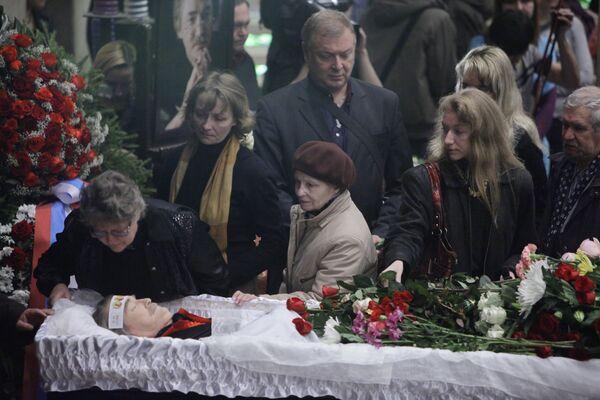 Прощание с актером Игорем Старыгиным
