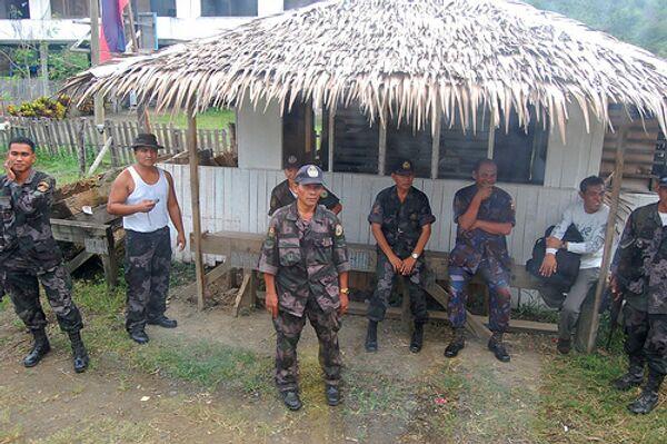 Филиппинские полицейские. Архивное фото