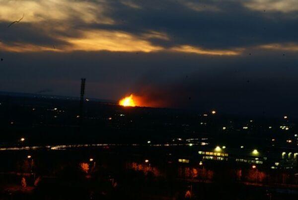 Взрыв в ульяновске