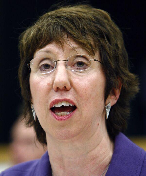 Еврокомиссар Кэтрин Эштон стала главой европейской дипломатии