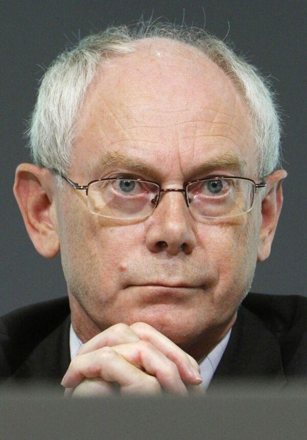 Херман ван Ромпей избран президентом ЕС