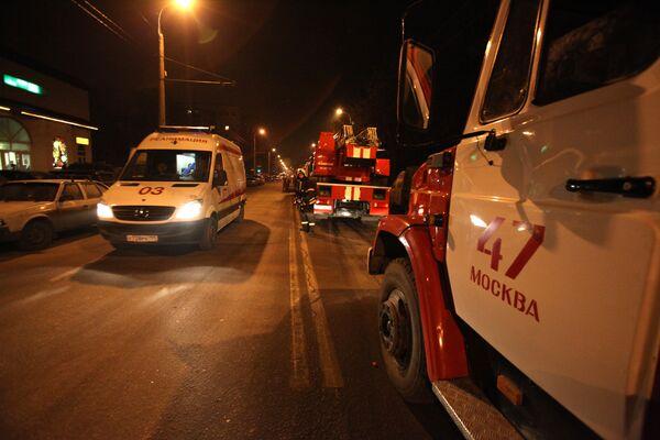 На улице Юных Ленинцев, где произошел взрыв бытового газа в жилом доме