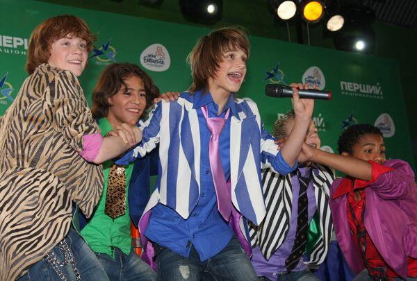В Киеве завершился детский песенный конкурс Евровидение-2009