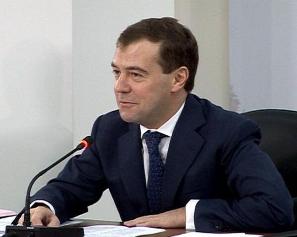 Дмитрий Медведев придумал имя новому российскому суперкомпьютеру