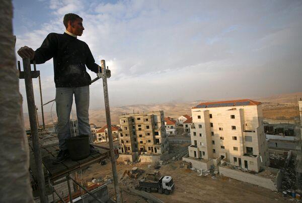 Строительство новых поселений на Западном берегу реки Иордан