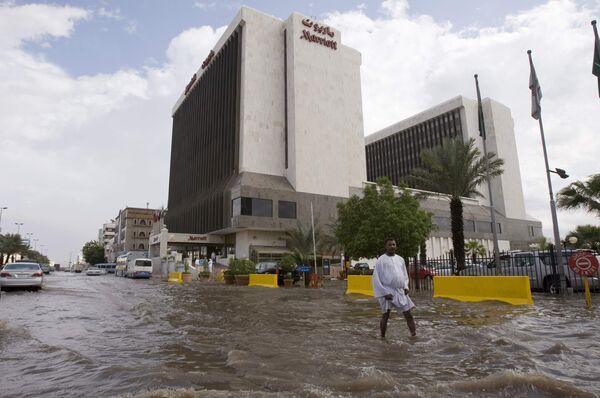 Наводнение в Саудовской Аравии