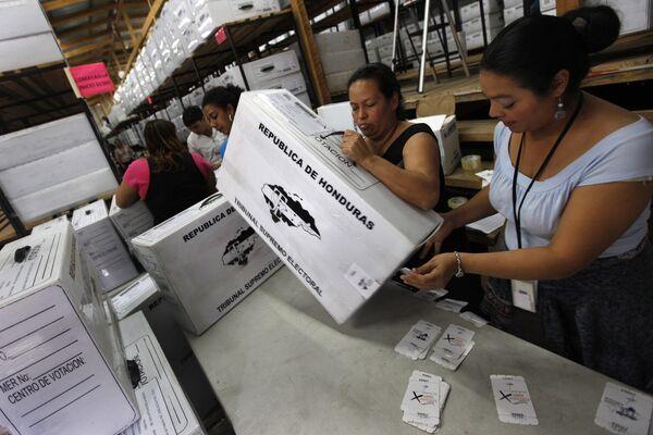 Подготовка к выборам в Гондурасе