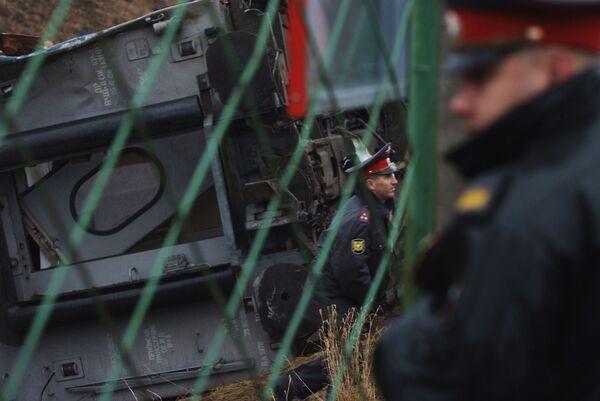 МВД ищет анонима, сообщившего о причастных к подрыву Невского экспресса