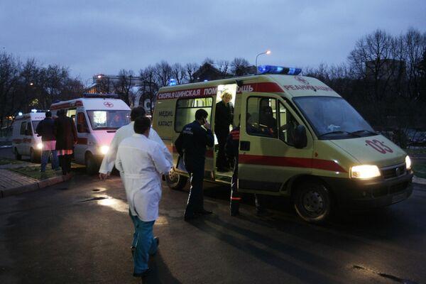 Скорая помощь добиралась до места пожара в Перми около 7 минут