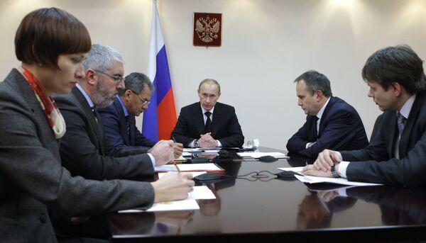 Премьер-министр РФ Владимир Путин посетил Пермь