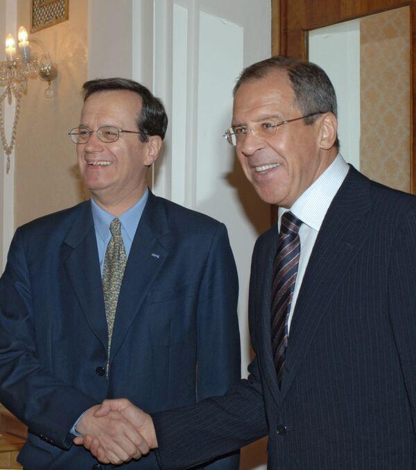 Генеральный секретарь ОБСЕ Марк Перрен де Бришамбо приветствует начало дискуссий по предложениям РФ в сфере евробезопасности