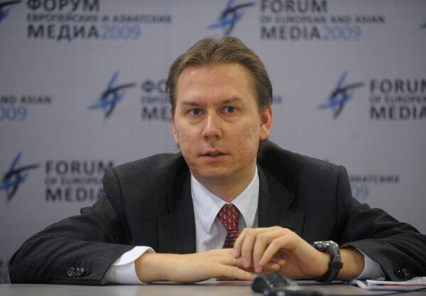 Заместитель главного редактора Российского агентства международной информации РИА Новости Максим Филимонов