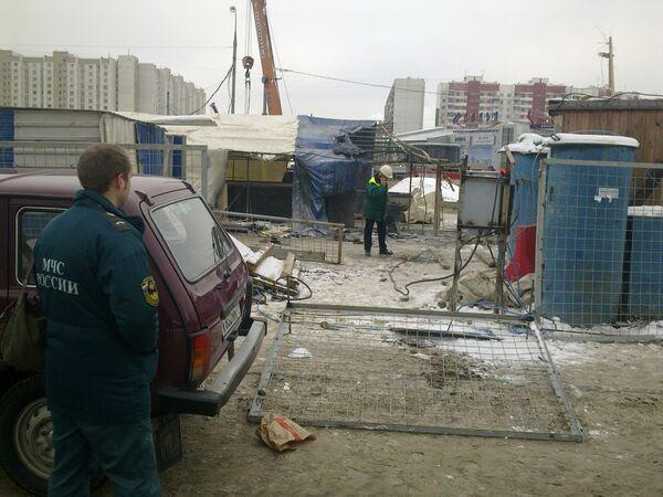 Взрыв пропана в метро Митино