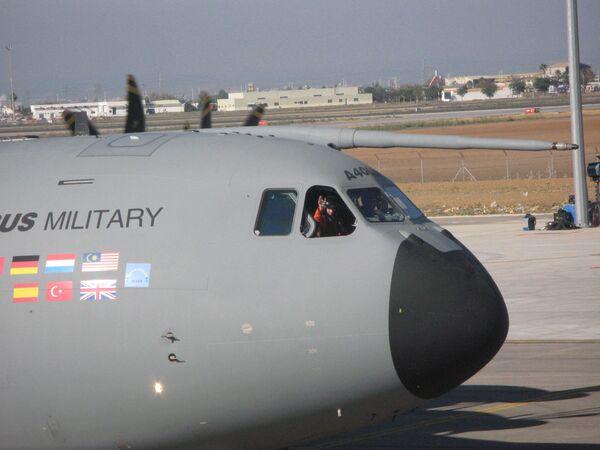 Лайнер Airbus A400M