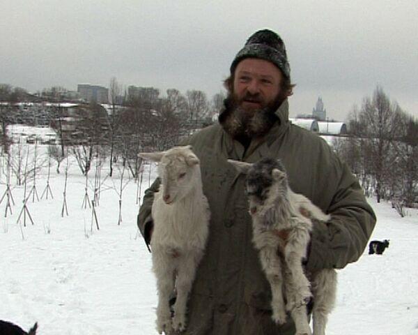 Городской феномен: бывший спецназовец разводит коз в Москве