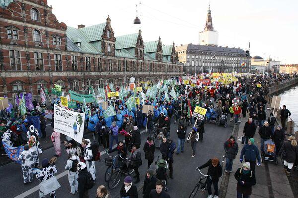 Демонстрация по защите климата в Копенгагене